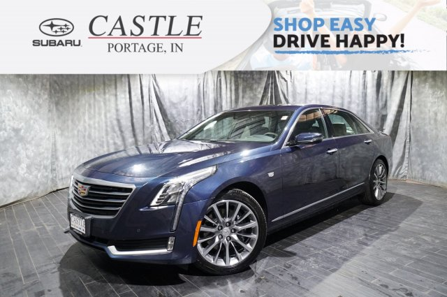 Pre-Owned 2018 Cadillac CT6 Sedan Luxury AWD