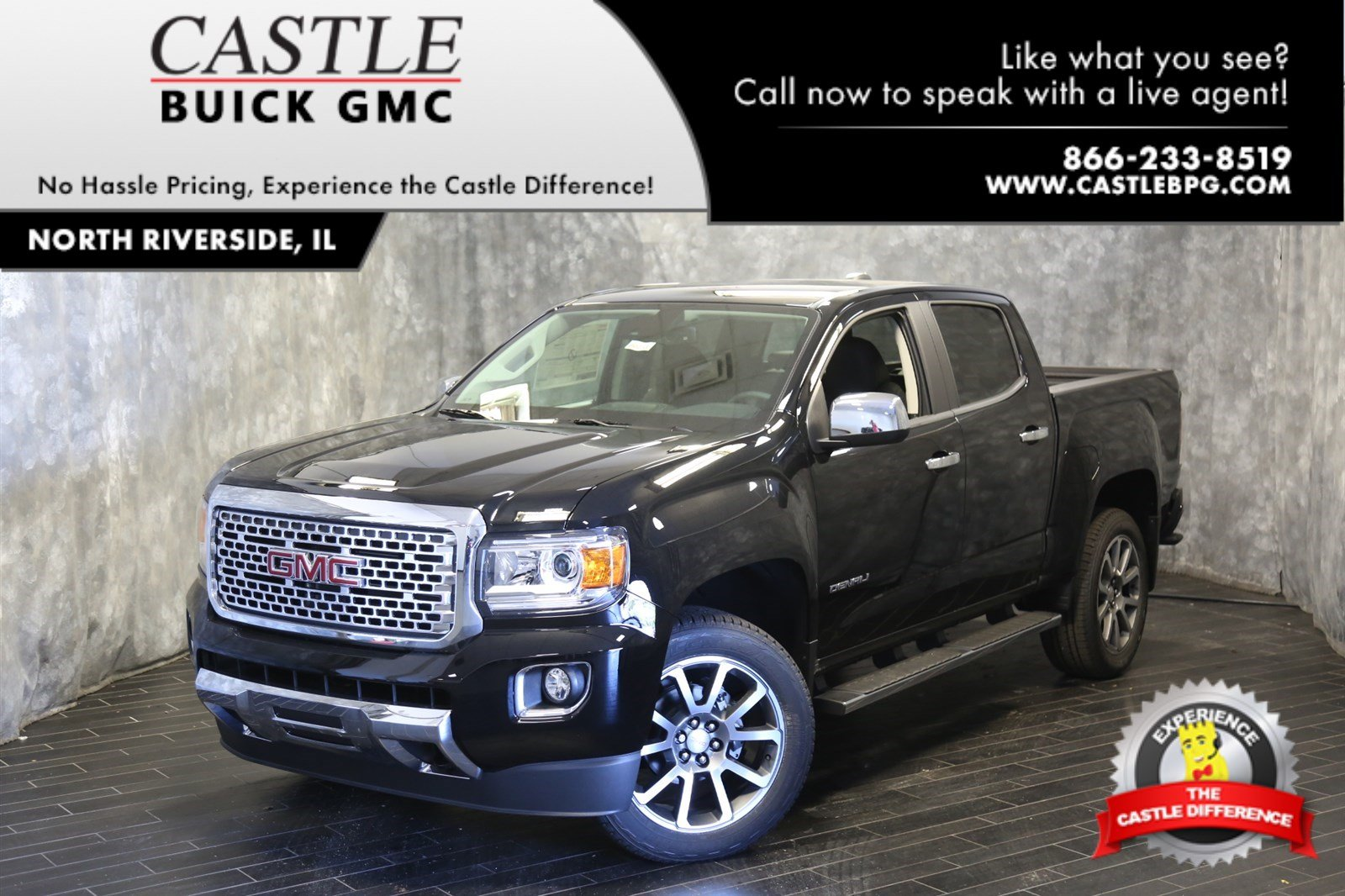 New 2019 Gmc Canyon 4wd Denali Crew Cab Pickup In North Riverside Fuel Filter 1994 Truck