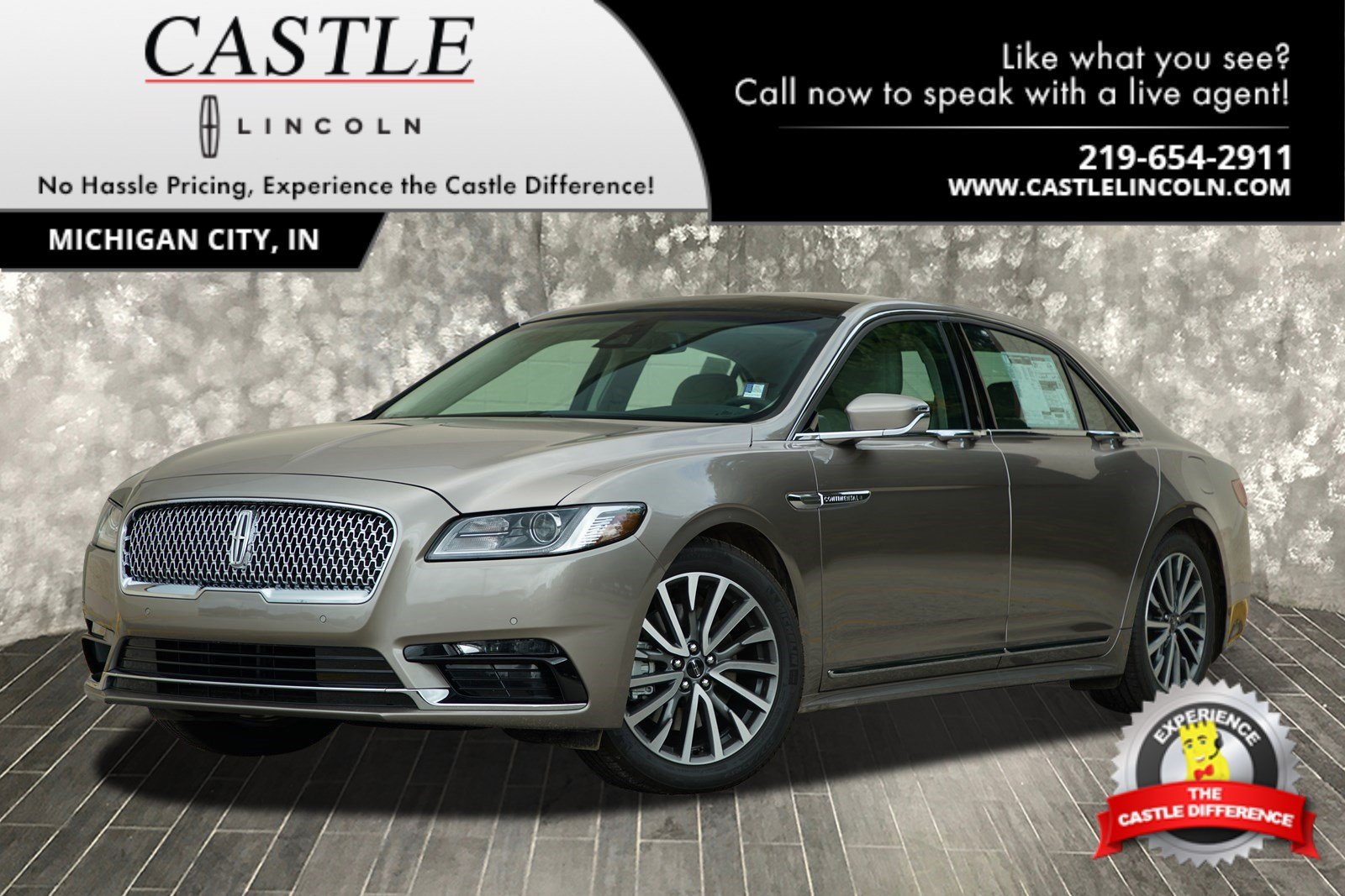 New 2018 Lincoln Continental Select