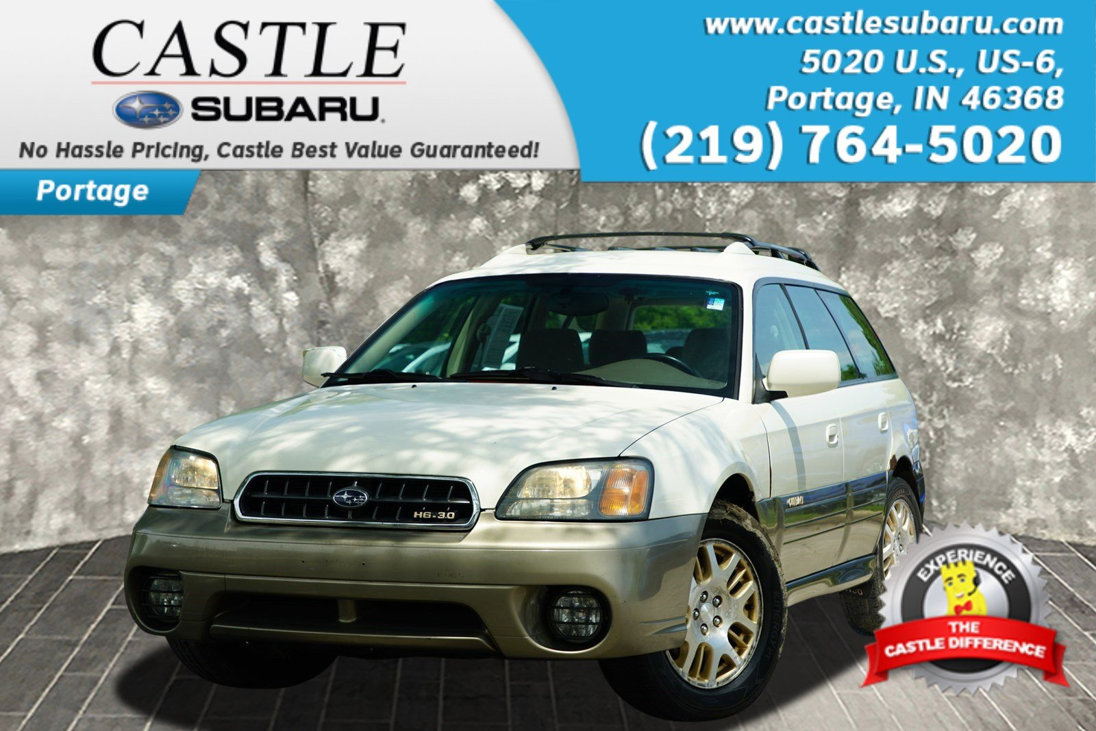Pre-Owned 2003 Subaru Legacy Wagon Outback H6
