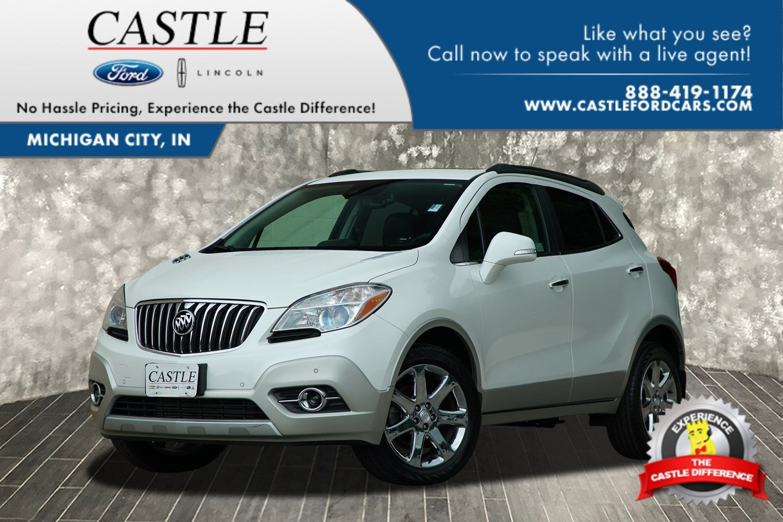Pre-Owned 2014 Buick Encore Premium Sport Utility in Michigan City ...