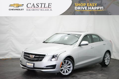 Pre-Owned 2017 Cadillac ATS Sedan AWD