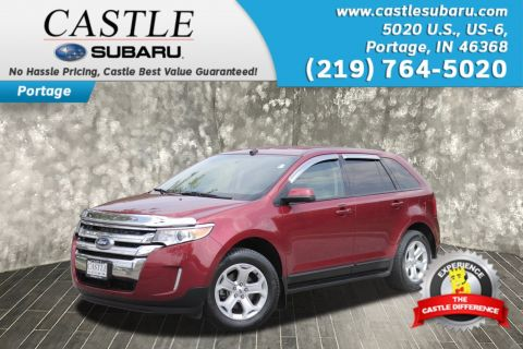 Pre Owned  Ford Edge Sel Sport Utility In Portage P Castle Automotive Group